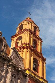 San Miguel De Allende, Mexico, Church, Architecture