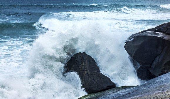 Wave, Crash, Shore, Nature, Sea, Ocean, Splash, Water