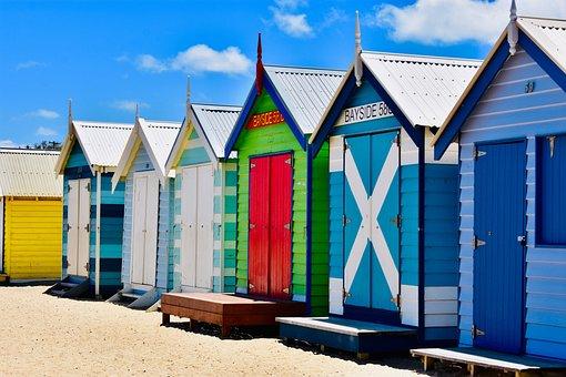 Melbourne, Australia, St Kilda, City, Skyline, Victoria