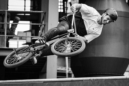 Cycling, Bmx, Man, Bike, Sport, Spectacular, Jump