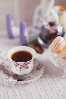 Tea, Sweet, Morning, Dessert, Drink, Romantic, Saucer