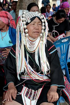 Akha, Woman, Tribe, People, Ethnic, Asia, Tradition