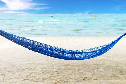 Palm, Nature, Travel, Hammock, Paradise, Beach, Ocean