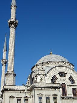 Mosque, Minaret, Istanbul, Architecture, City, Travel
