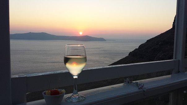Relax, Landscape, Aperitivo, Holiday, Wine, Sunset
