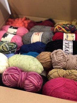 Wrap, Yarn, Wool, Strikketips, Fiber, Hobby, Thread