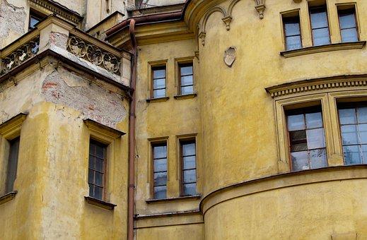 Prague, Building, Architecture, City, Europe, Window