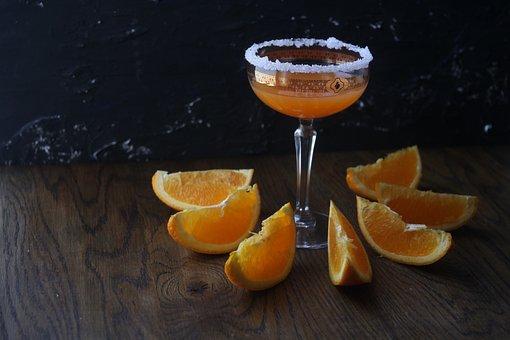 Drink, Orange, Cocktail, Juice, Fresh, Healthy, Glass