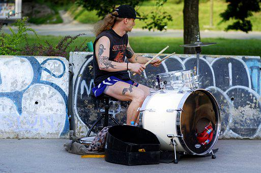 Man, Young, The Drummer, Little Drummer Boy, The Person