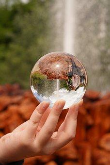 Geyser, Mirroring, Water, Nature, Reflection, Wet