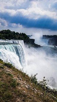 Niagra Falls, Waterfall, Niagra, Scenic, Canada, Nature