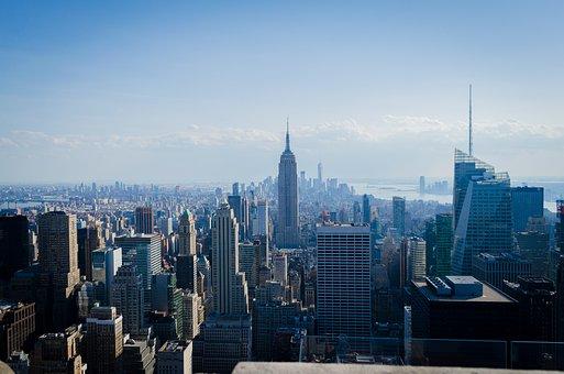 Empire State, Nyc, Manhattan, Skyscraper, Architecture