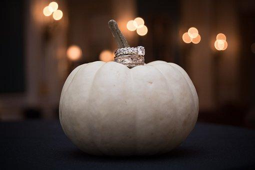 Pumpkin, Wedding, Rings, Wedding Rings, Jewelry, Bride