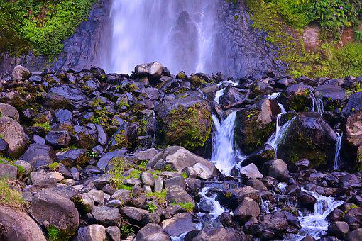 Waterfall, Nature, Rock, Water, Landscape, River