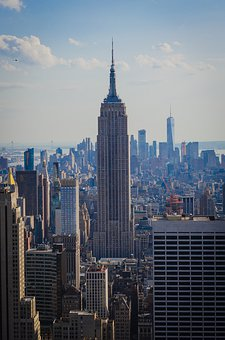 Nyc, Empire State, Manhattan, Architecture, Skyline