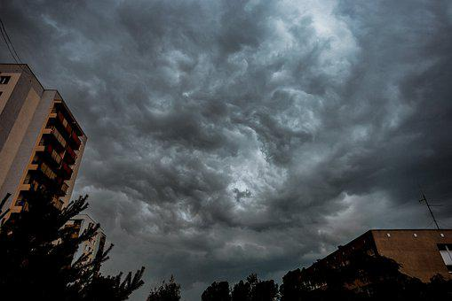 Storm, Clouds, Sky, Atmosphere, Figure, Rain, Dark