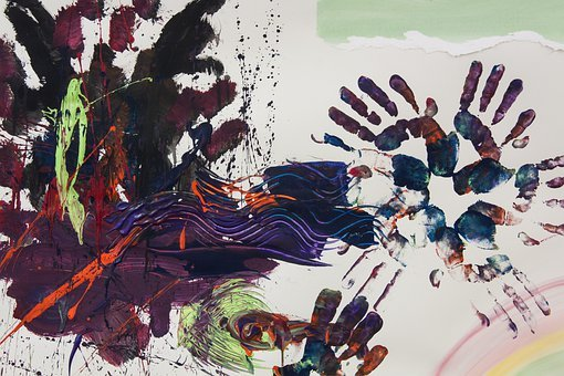 Art Therapy, Hand, Hands, Reprint