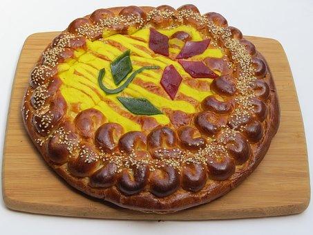 Bread, Artisan Bread, Egg Bread, Eggs, Yeast, Tie