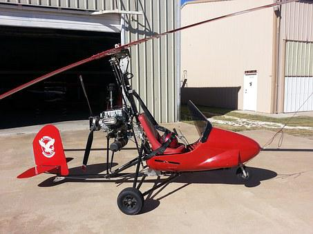 Aircraft, Gyrocopter, Aviation, Gyroplane, Autogyro