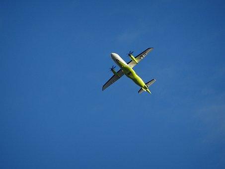 Aircraft, Sky, Propeller, Blue, Rotor, Aviation, Fly