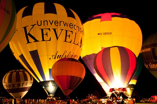 Hot Air Balloon, Sky, Glow, Balloon, Flying, Float