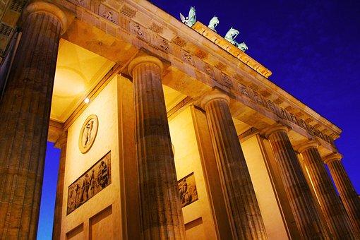 Brandenburg Gate, Potsdamer Platz, Travel, Berlin