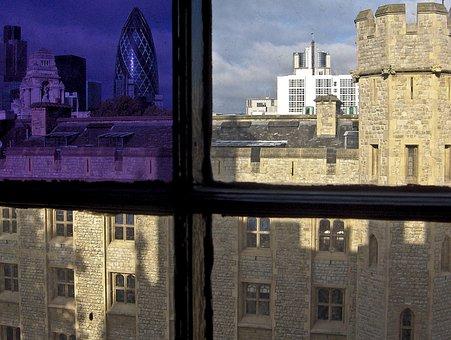 London, City, Briton, Torre, Detail, Historian
