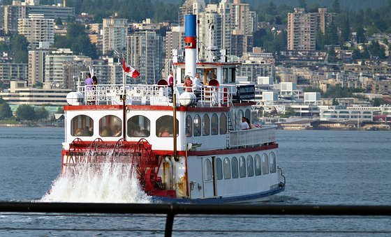 Shuffle Boat, Vancouver, British Columbia, Canada