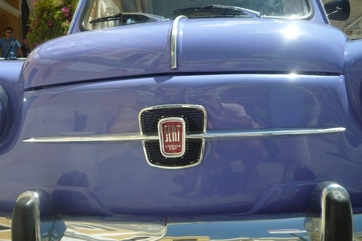 Car, Frontal, Seat, Seat 600, Old, Antique Car, Vintage