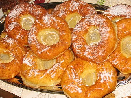 Cake, Donut, Dessert, Sweet, Sugar, Dough, Carnival