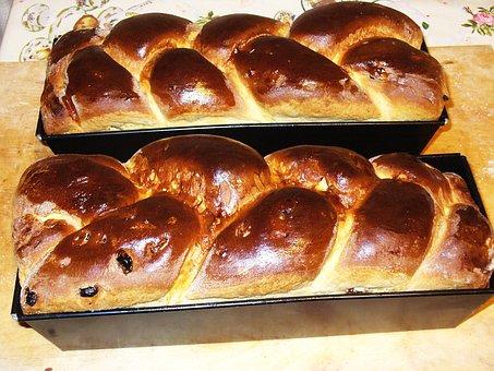 Bun, Chałka, Bread, Cake, The Cake, Sweet, Eating