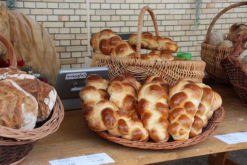 Challah Bread, Eierzopf, Zopf, Egg Bread
