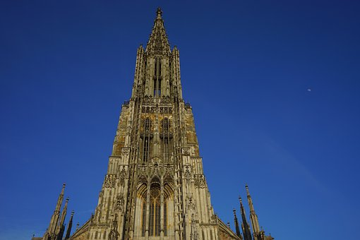 Münster, Ulm Cathedral, Church, Dom, Cathedral