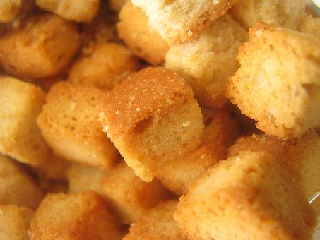 Food, Croûton, Bread