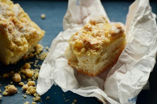 Streusel Cake, Crumb Cake, Crumb, Sheet Cake, Crumbly