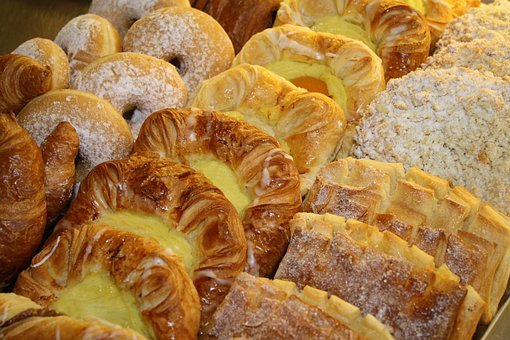 Particles, Danish Pastry, Small Cakes, Biscuits