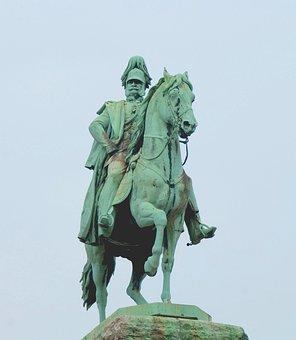 Monument, Cologne, Emperor Wilhelm I, Equestrian Statue