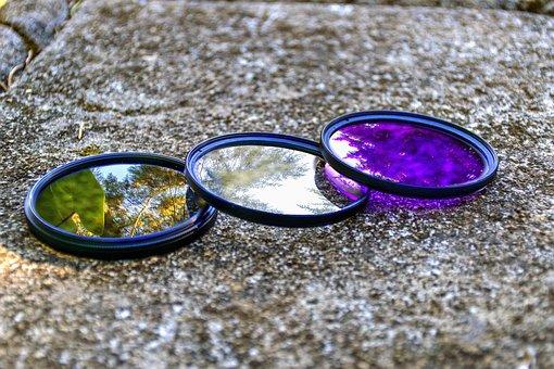 Filter, Polarized, Nikon, Canon, Sony, Camera, Dslr, Uv