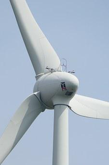 Wind Power, Rotor, Close, Eco Energy, Forward, Current