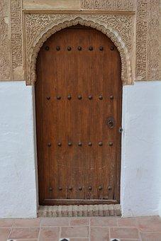 Goal, Door, Moorish, House Entrance, Wood, Gate