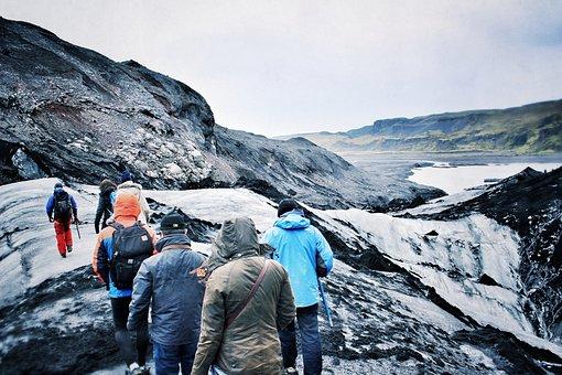 Glacier, Iceland, Ice, Hiking, Iceberg, Travel, Nature