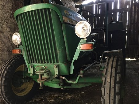 Tractor, John Deere Lanz, Agriculture, Mow, Harvest