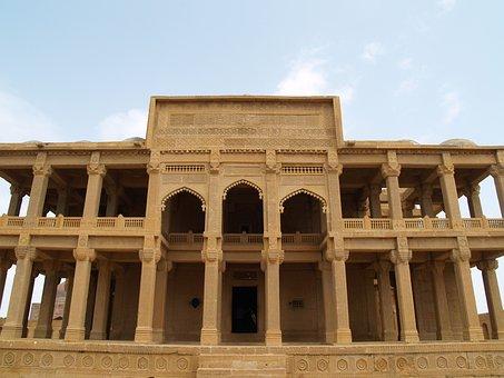 Makli, Tombs, Mirza, Issa, Khan, Tarkhan, Hills, Thatta