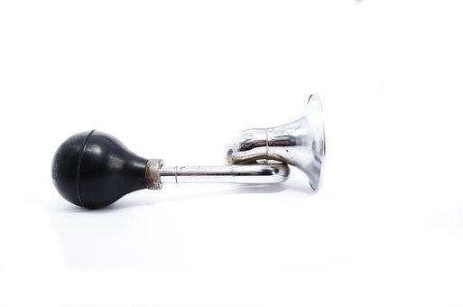 Klaxon, Horn, Bicycle, Signal, Warning, Sound, Trumpet
