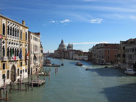 Venice, Grand Canal, Italy, Travel, Landmark, Europe