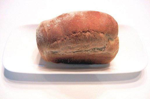 Mini Loaf, White Bread, Yeast, Baked