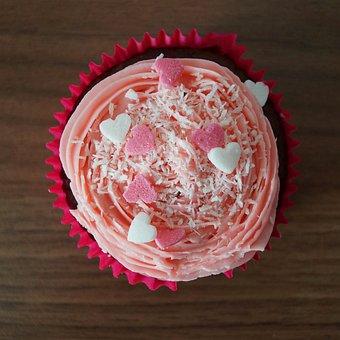 Muffin, Cupcake, Colorful, Cake, Sweet, Dessert, Bake