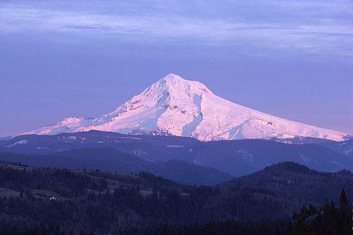 Mount, Hood, Mountain, Oregon, Scenery, Mt Hood, Nature