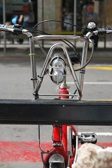 Street, Bicycle, Urban, Parking, Transport, City