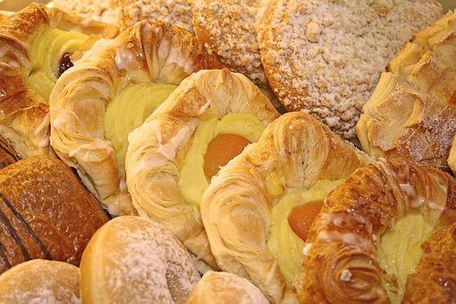 Pastries, Particles, Danish Pastry, Sweet, Biscuits